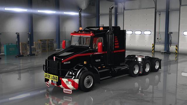 Mammoet Usa Skinpack For Ats American Truck Simulator Mod Ats Mod American Truck Simulator Trucks Mack Trucks For Sale
