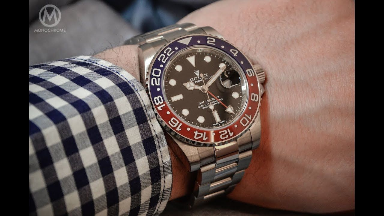 Where to buy genuine Rolex GMT Master II watches