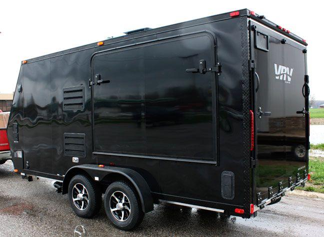 VRV camplite trailer!!!! all aluminum, so light SUVs can tow