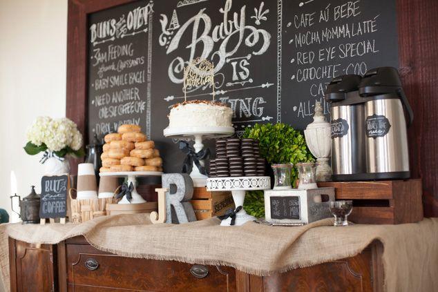Coffee Bar Wedding Reception Winter Parties