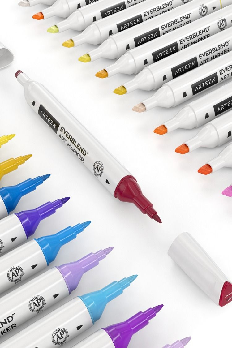 Arteza Art Markers Are Designed For Novice To Professional