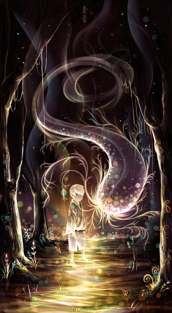 mushishi by Anime art, Anime