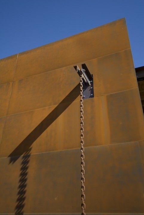 Paradise Valley Steven Brenden Architect Modern Rain Chains Rain Chain House Cladding