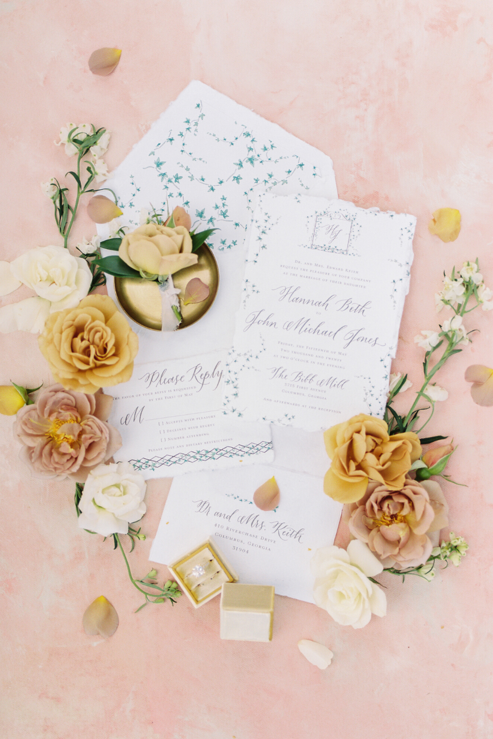 Vibrant Feminine Wedding Inspiration For Every Modern Bride In 2020 Wedding Invitations Stationery Feminine Wedding Wedding Inspiration