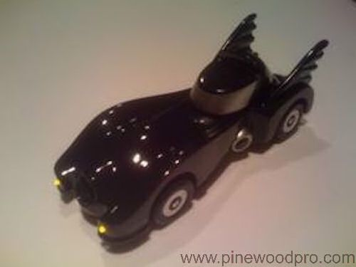Photo Pinewood Derby Batmobile Car
