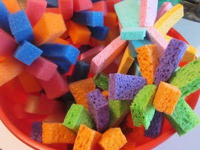 Sponge Water Balls