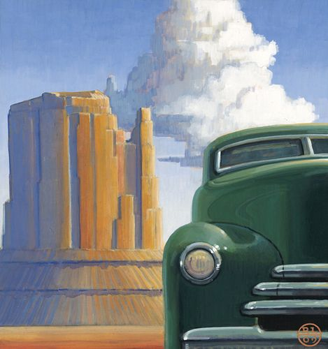 """"""" Monument"""" Meyer East Gallery SF, NM"""