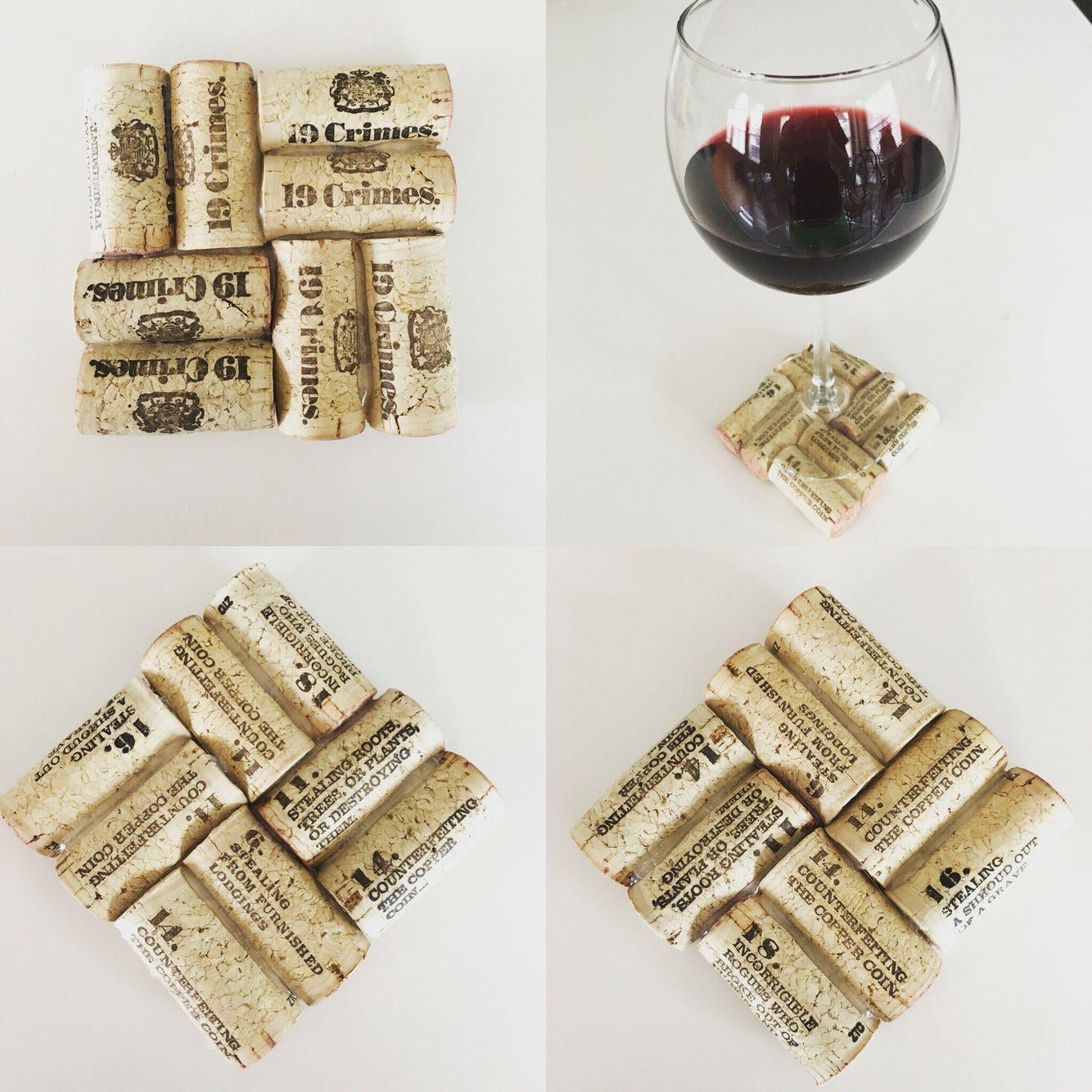 19 crimes corks