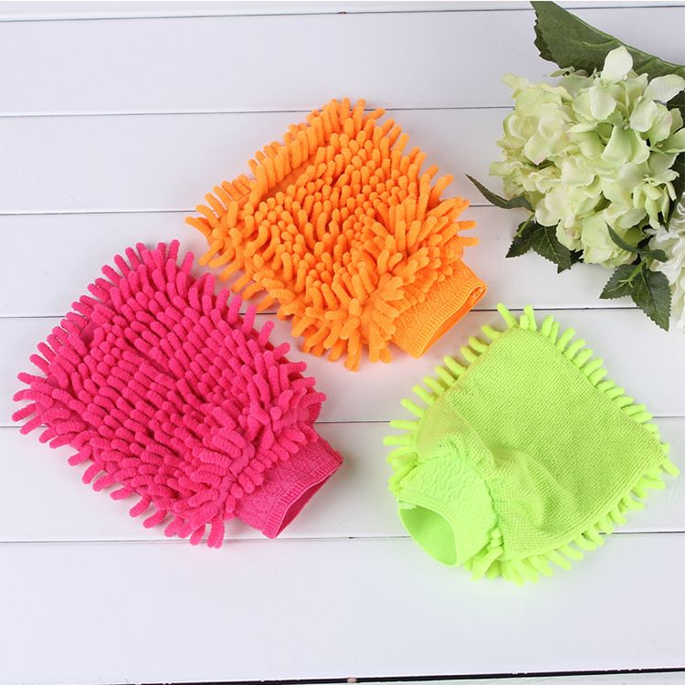 Huiduoduo Handtuch Mopp Mikrofaser Handtucher Werkzeuge Reinigungstuch Super Mikrofaser Waschanlage Reinigungshandschuhe Cleaning Gloves Window Washer Car Wash