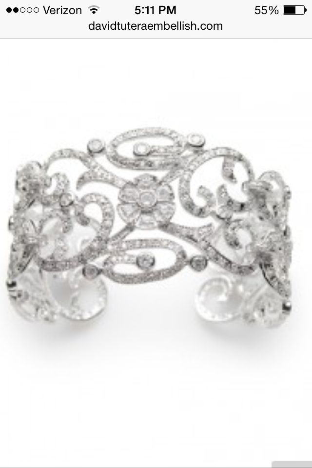 David Tutera bangle Wedding jewelry Pinterest David tutera
