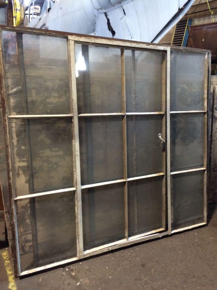 steel casement windows modern large iron factory window industrial casement steel glass vintage salvage avai windows