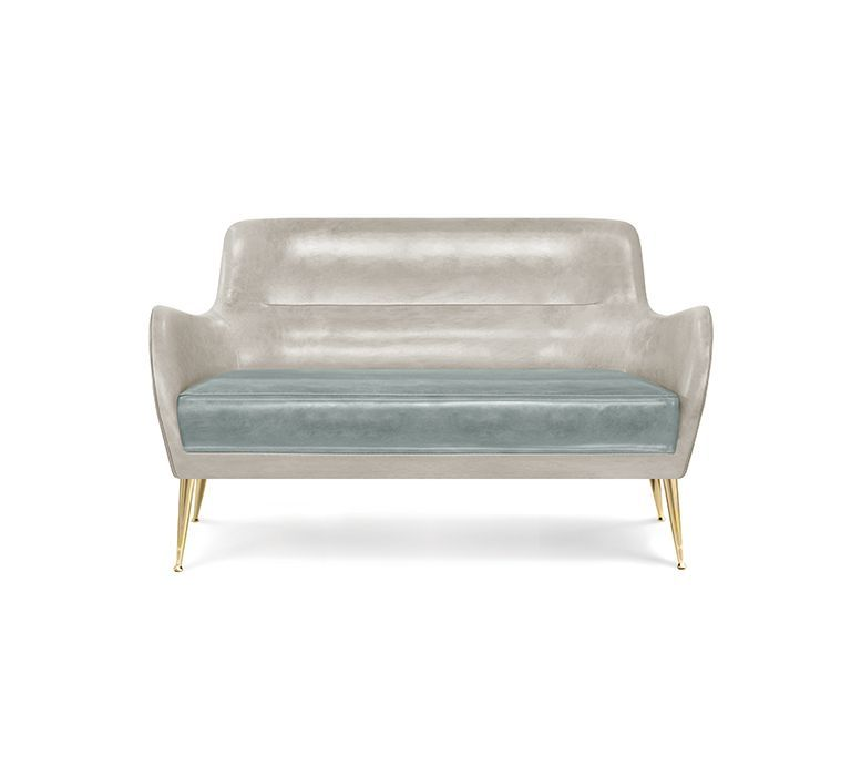 Dandridge Sofa Mid Century Modern Furniture By Essential Home