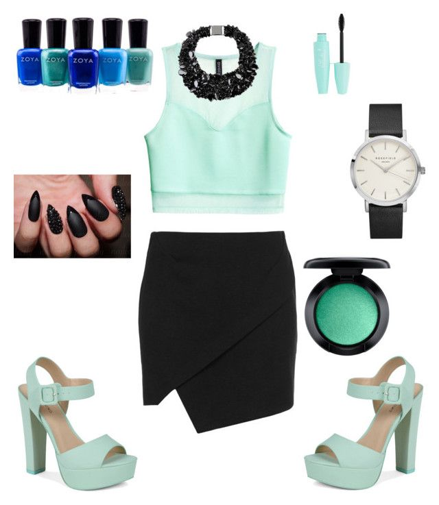 """""""Sin título #54"""" by glamjournal ❤ liked on Polyvore featuring Topshop, H&M, Brunello Cucinelli, Call it SPRING, Zoya and MAC Cosmetics"""
