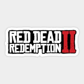 Red Dead Redemption 2 Logo Rdr2 Logo Red Dead Redemption 2 Merch T Shirt Teepublic 2 Logo Red Dead Redemption