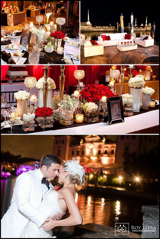 Real Florida Wedding: Alexis and Joey\'s Old Hollywood Wedding Theme ...
