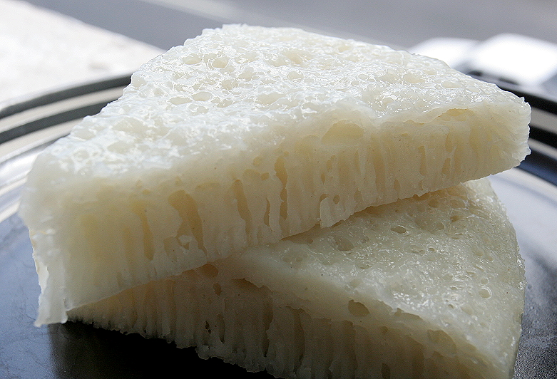 Steamed Rice Cake Recipe (With images) | Rice cake recipes ...