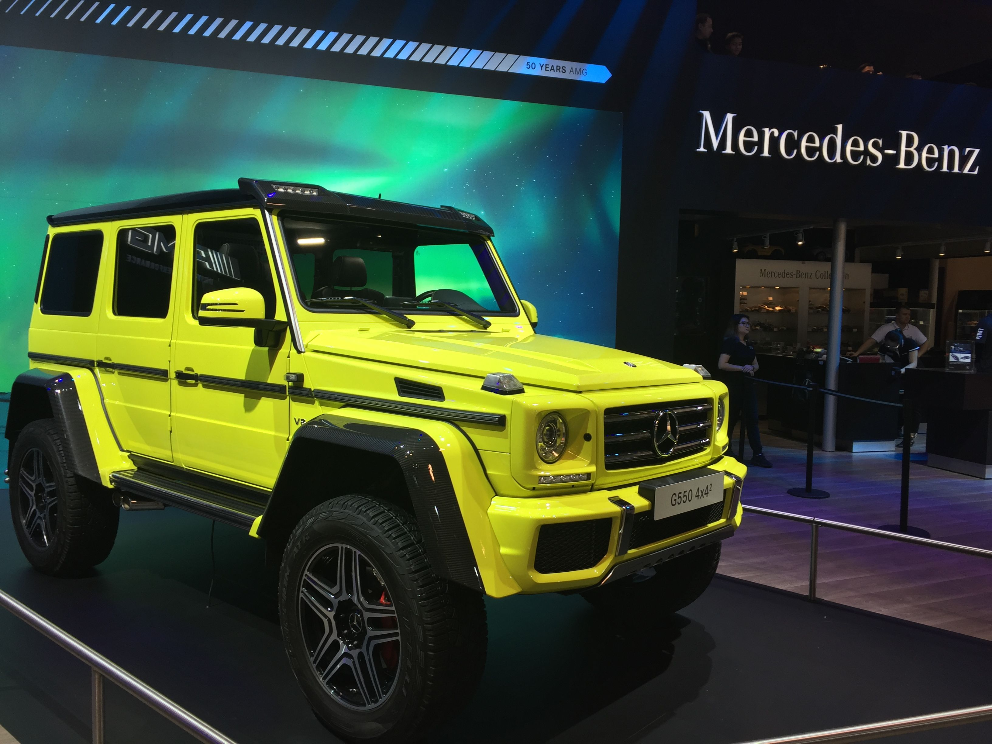 Mercedes Benz G Yellow Neon Nice Colour Benz G G Wagon
