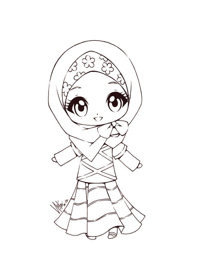 Miss Cutie Buku Mewarnai Kartun Gambar Kartun