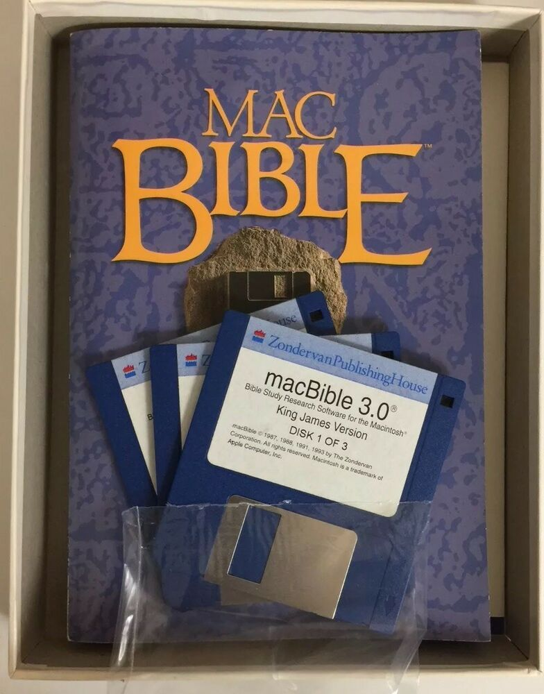 MAC Apple Bible Software Christian Zondervan KJV King