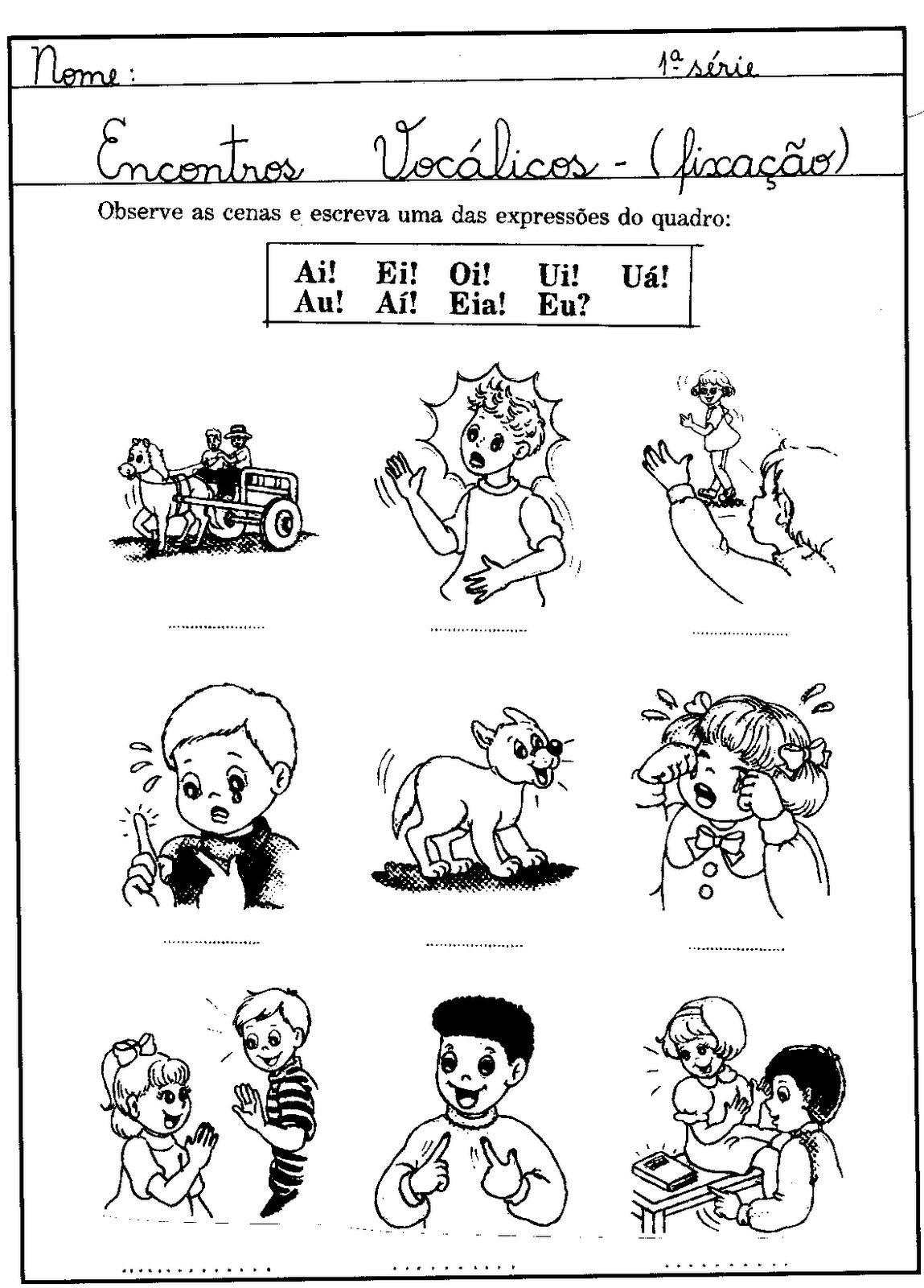 Alegria De Aprender Na Educacao Infantil Atividades Com Encontro