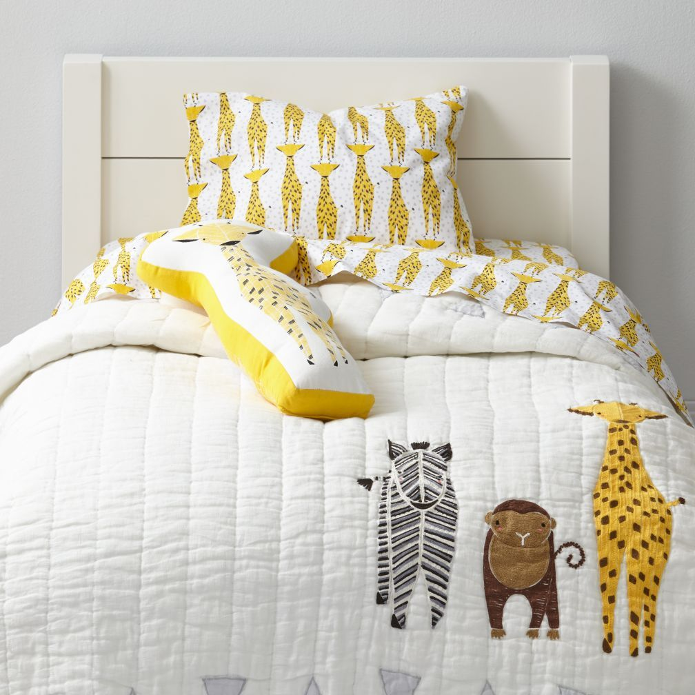 Shop Savanna Toddler Bedding Giraffe Our Savanna Toddler