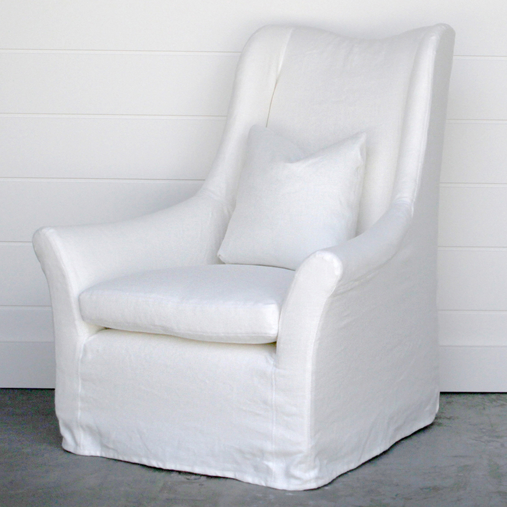 Camille wing chair Wing chair, Chair, Chair upholstery