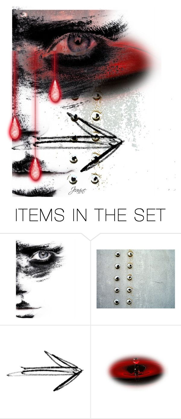 """Behind blue eyes"" by gml2535 ❤ liked on Polyvore featuring art"