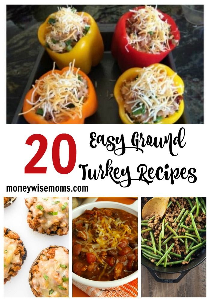 Photo of 20 Easy Ground Turkey Recipes to Make for Your Family – Moneywise Moms