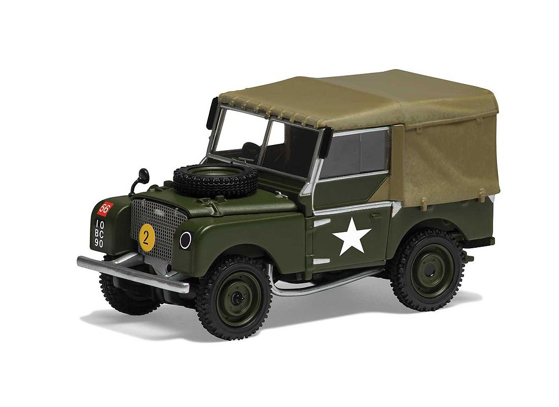 Vanguards 1:43 Land Rover Series I Diecast Model Car VA11113 This ...