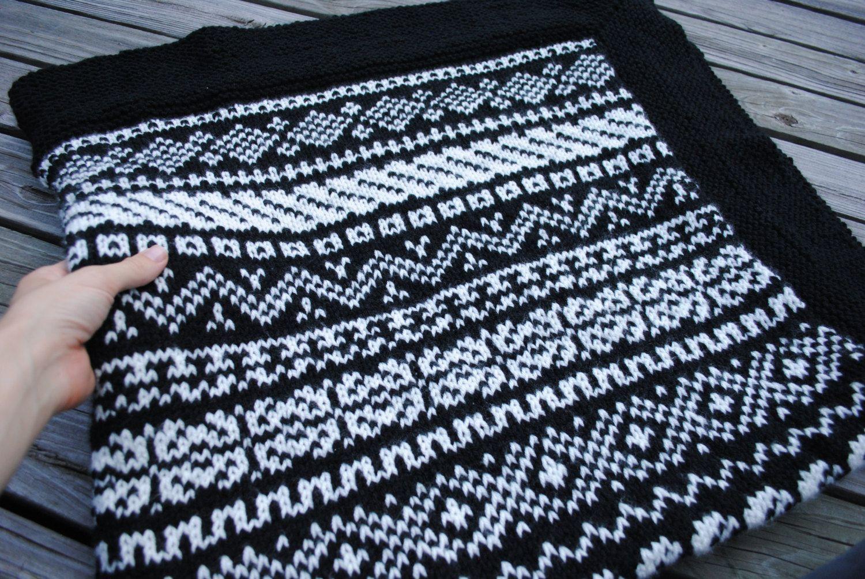 fair isle bags - Google Search   knitted woolen   Pinterest   Fair ...