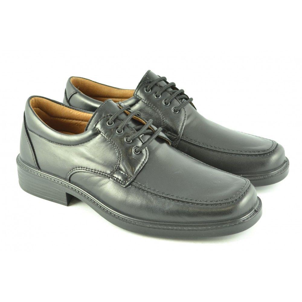 #Zapatos blucher de piel de alto aislamiento técnico y gran estanqueidad de LUISETTI.