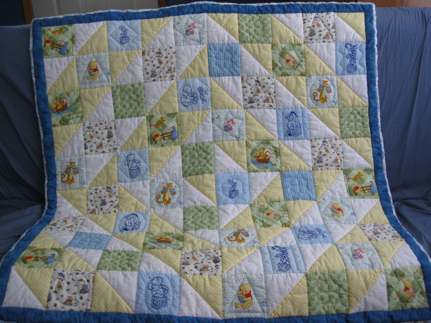 Classic Winnie The Pooh Quilt I Must Find The Fabric