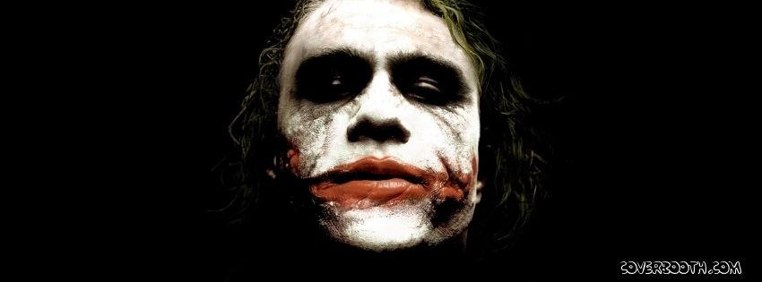 Joker Face Batman Scarred Red Lips Batman Villain Joker Facebook