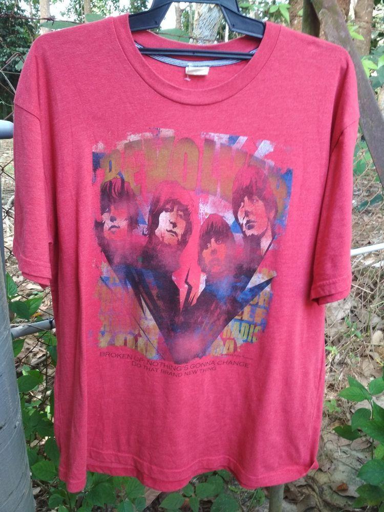 af3bb954 Beatles Revolver T shirt Vintage Artwork Collection Radio Day Size ...