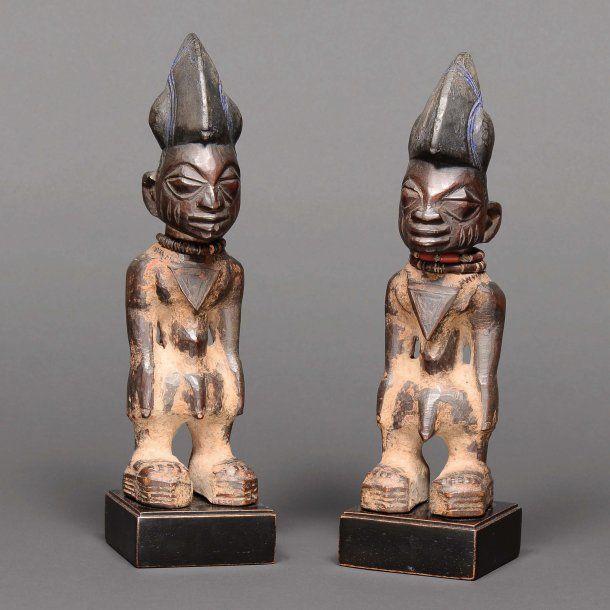Yoruba Ere Ibeji Twin Figure Nigeria Art Africain Traditionnel Africaine Afrique