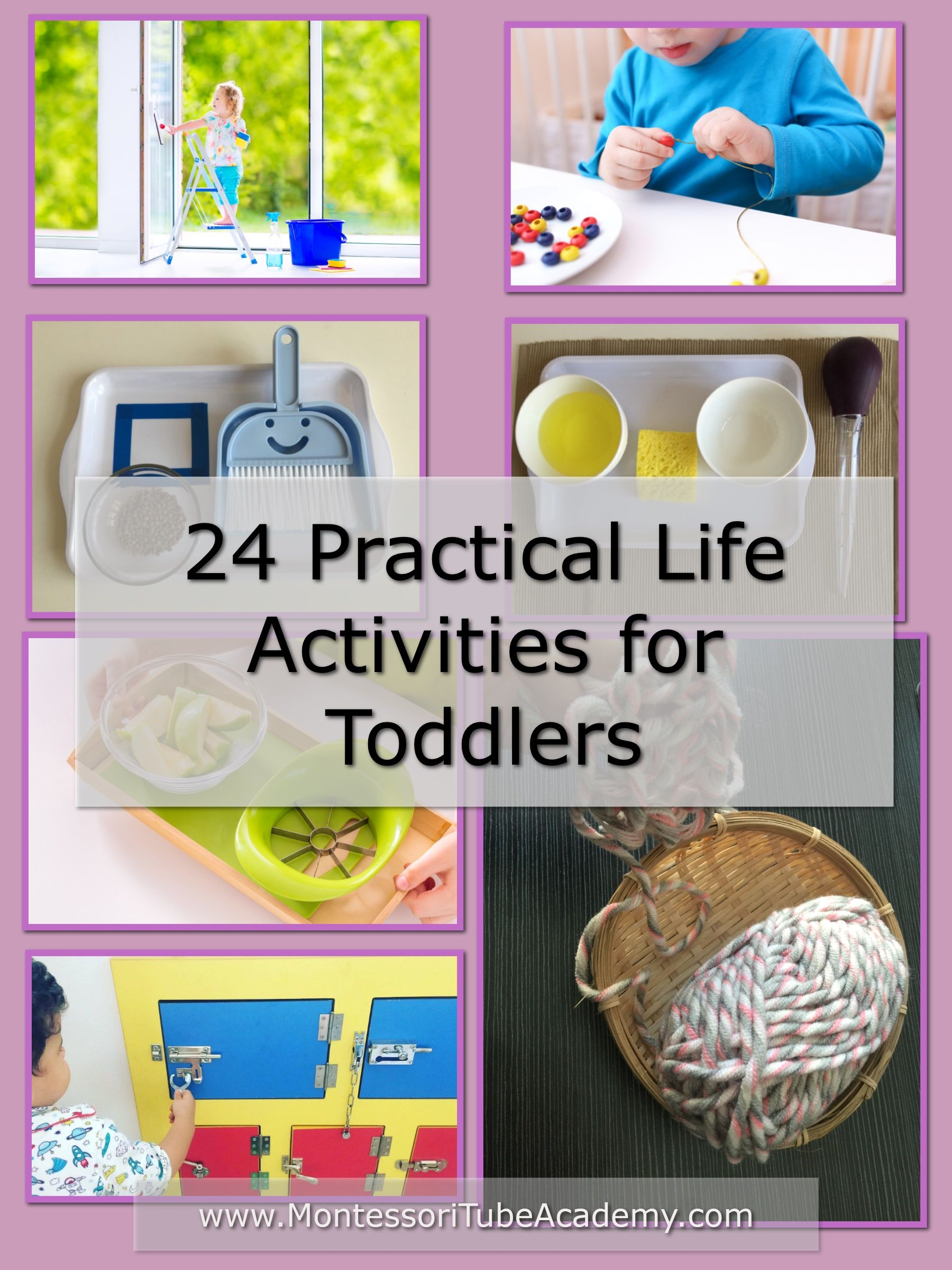 24 Practical Life Activities For Toddlers In