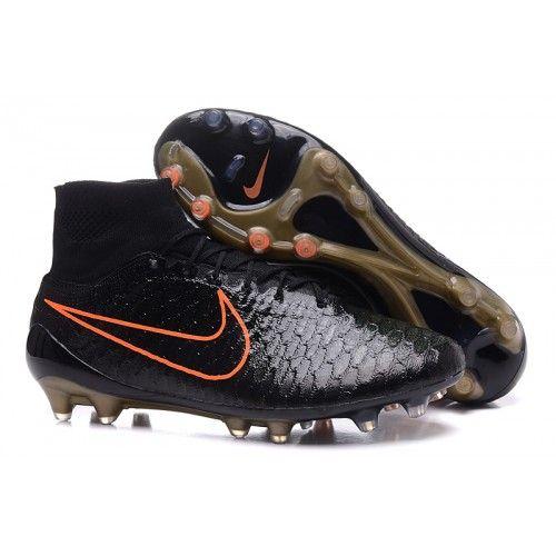 Promoção de Chuteira Da Nike Magista Obra FG - Preto laranja Homens  Promotion 5c76c74918881