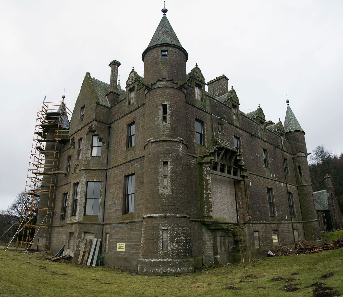 Balintore Castle - A Restoration Project