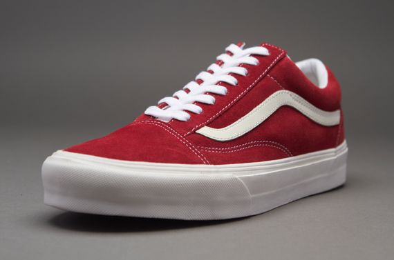 444310b73f Vans Old Skool - Mens Select Footwear - (Vintage) Rio Red
