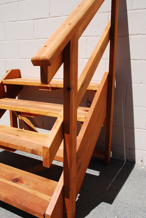 Best Redwood Stairs Stairs Outdoor Chairs Redwood Decking 400 x 300