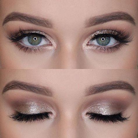 subtle silver smokey eye makeup  bird makeup