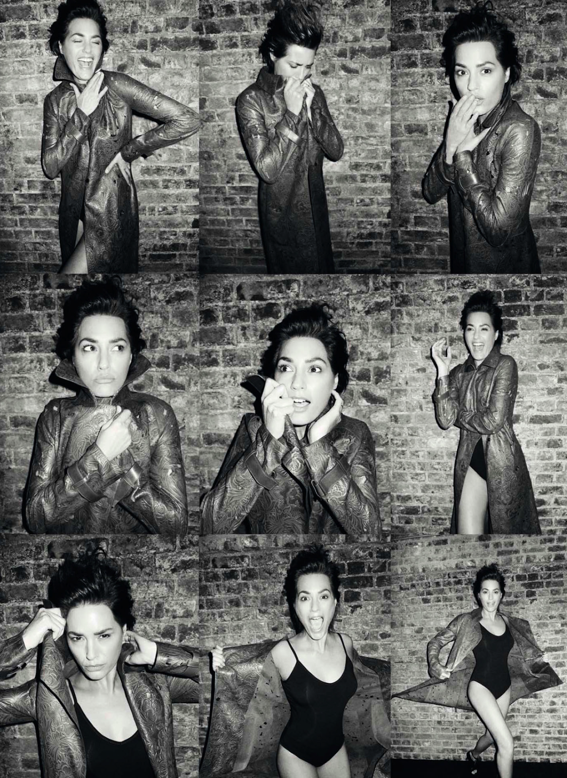 yasmin le bon by nico for harper's bazaar spain may 2013   visual optimism; fashion editorials, shows, campaigns & more!