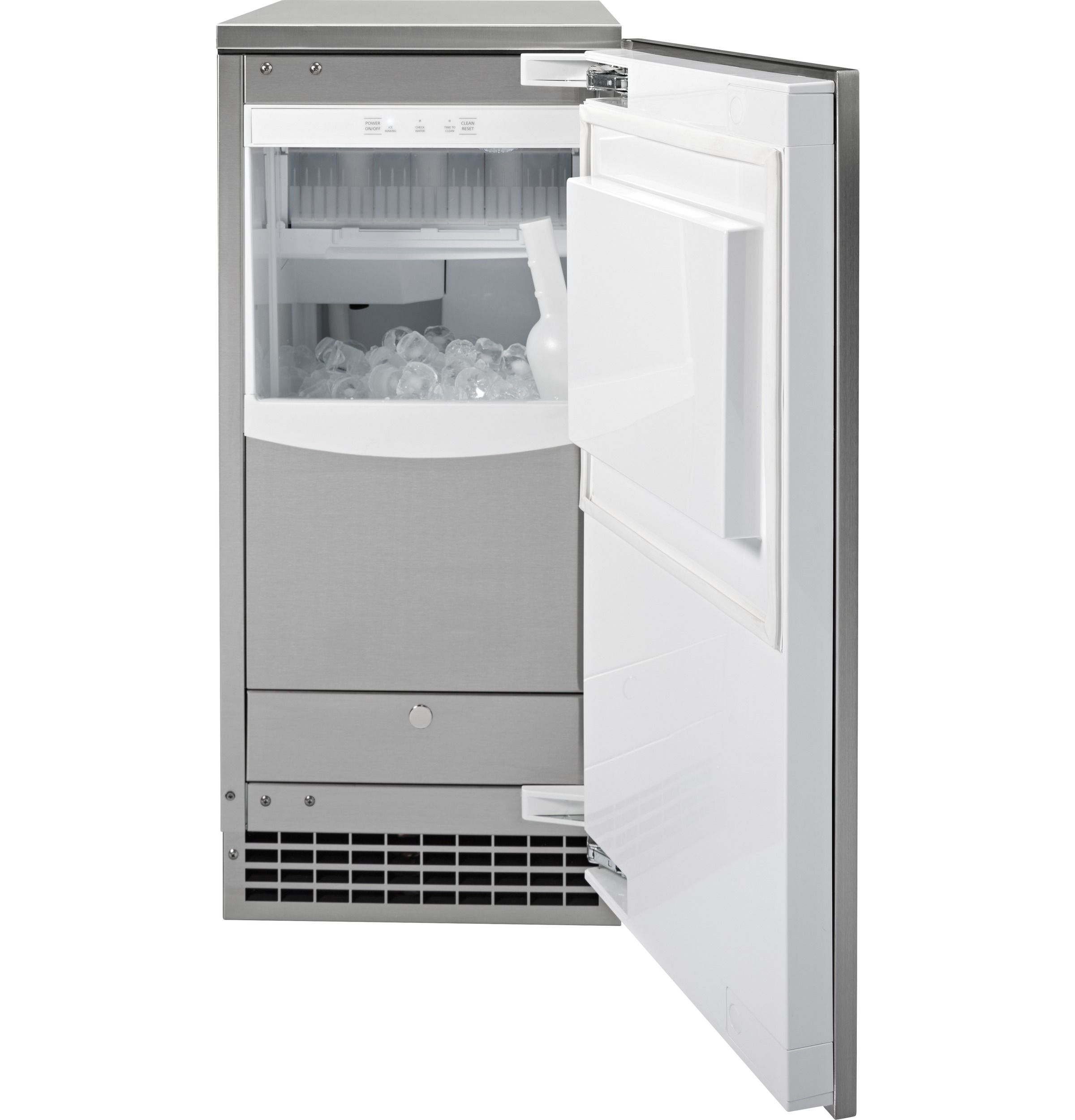 GE UCC15NJII Freestanding And Built-In Ice Maker With 65