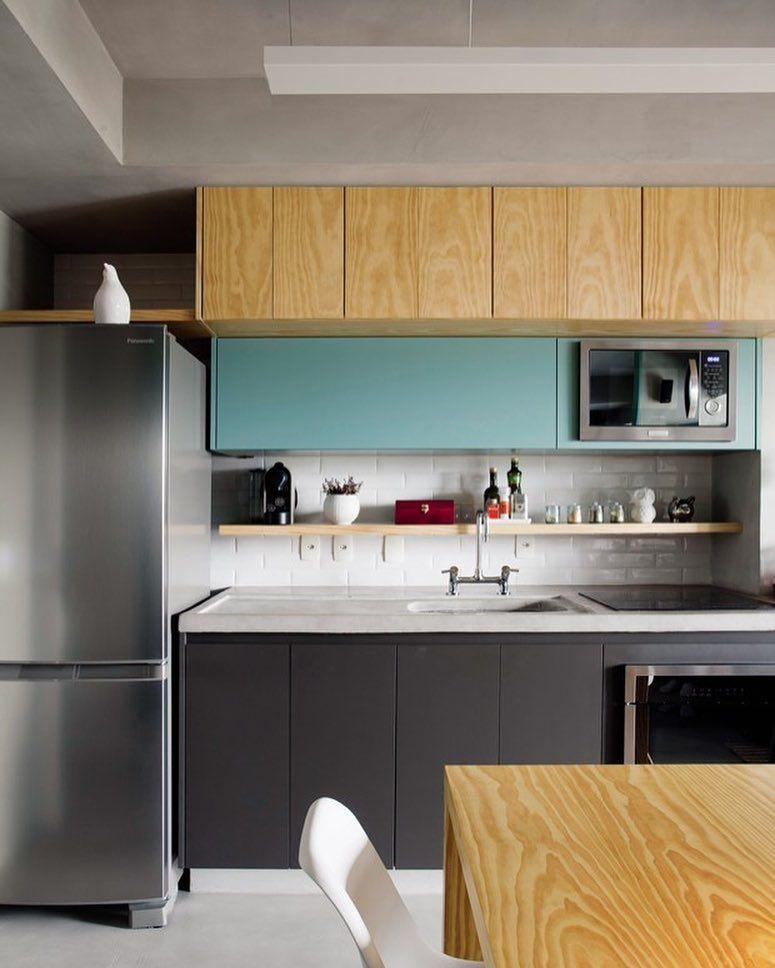 Imagem De Projetos De Cozinhas Pequenas Por Lev Ani Em Kitchen