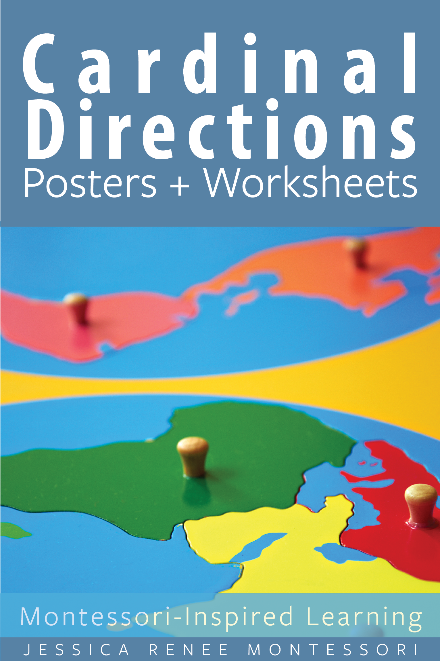 Montessori Geography Cardinal Directions Posters And