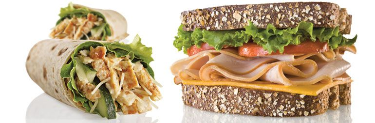 QT Kitchens offers the freshest sandwiches and wraps