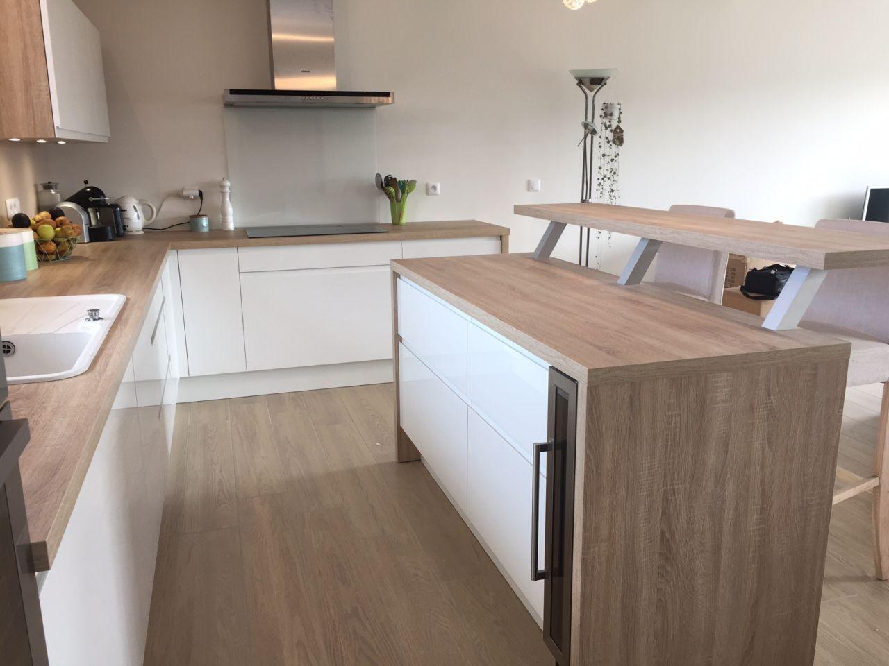 Cuisine socooc finition piky et chene bardolino kuchenne inspiracje kitchen interior - So cooc cuisine ...