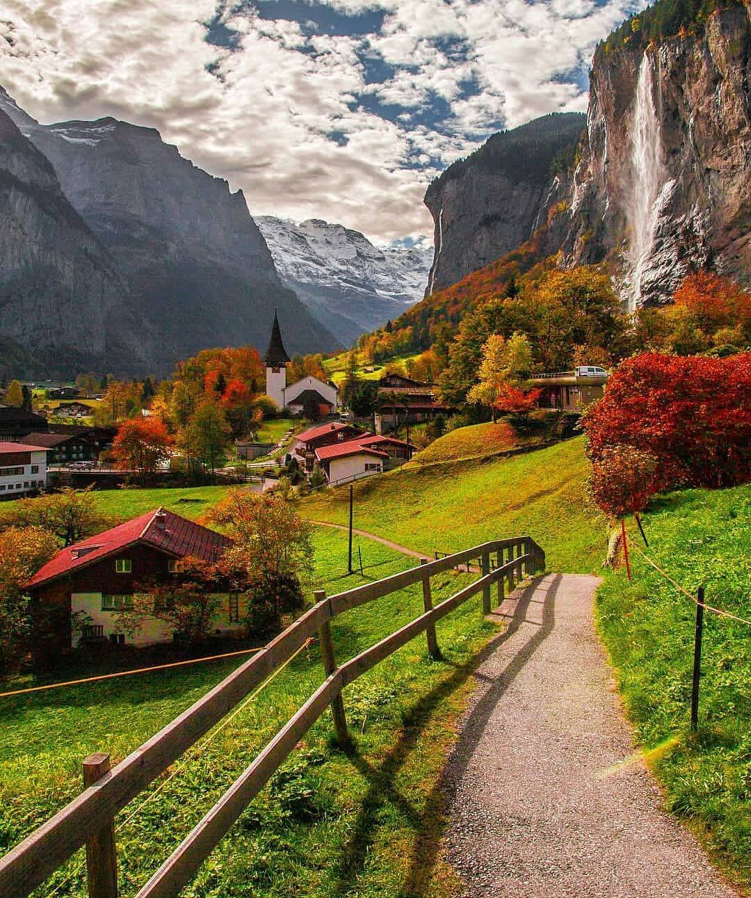 Amazing Places To Stay Switzerland: Living Europe (@living_europe) On Instagram: €�Colorful