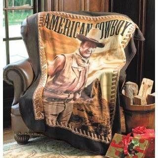Fleece Sherpa Blanket The Hero American Legend Blanket John Wayne Blanket