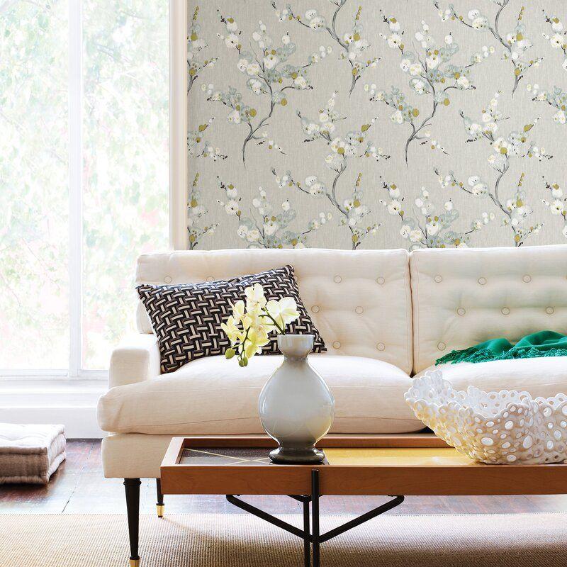 Mirei Peel And Stick 5 5m X 52cm Wallpaper Roll In 2021 Vintage Floral Wallpapers Peel And Stick Wallpaper Nuwallpaper